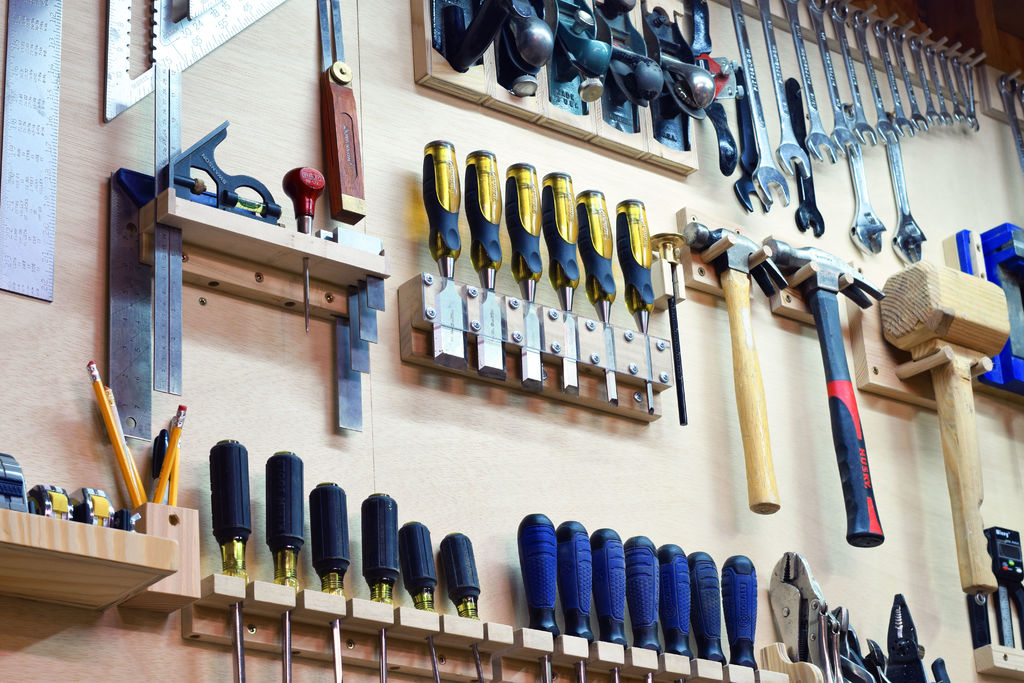 How to: Build a Custom Tool Wall