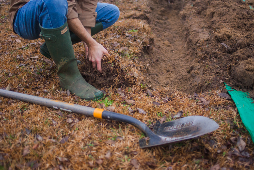 How to: Dig a Garden Patch Using Only a Shovel | Man Made DIY
