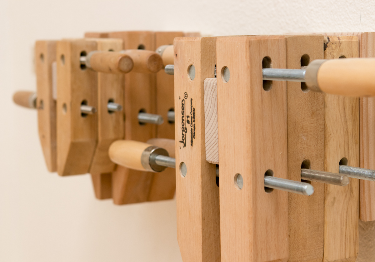 How To Make A Wooden Hand Screw Rack Organizer Man Made Diy