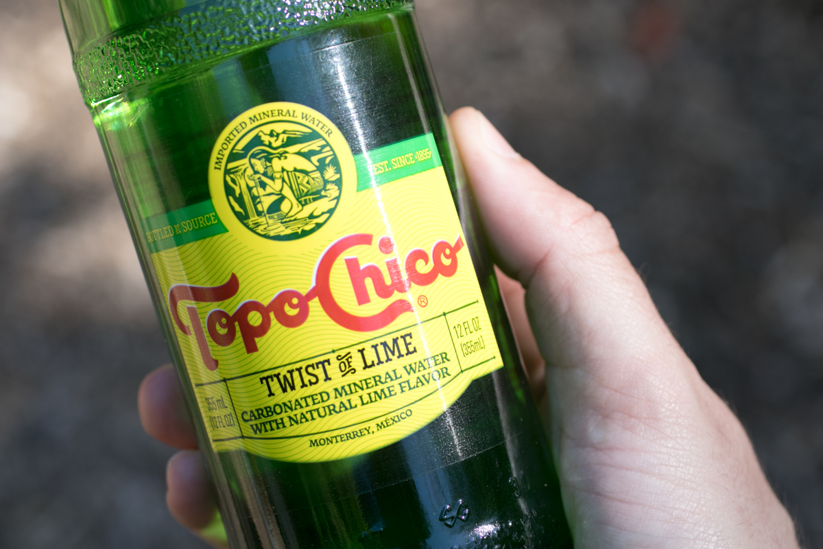 Topo Chico twist of lime