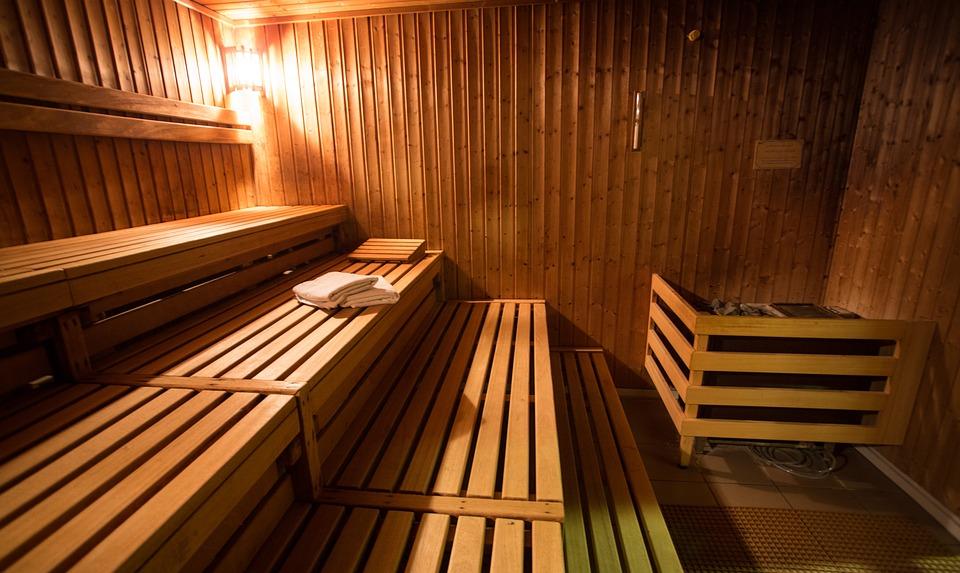 Sauna - inside