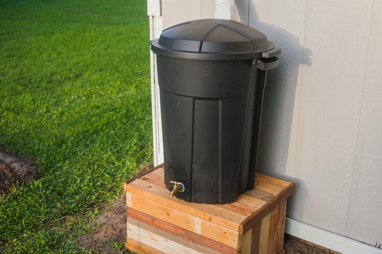 How to: Make an Inexpensive DIY Rain Barrel | Man Made DIY