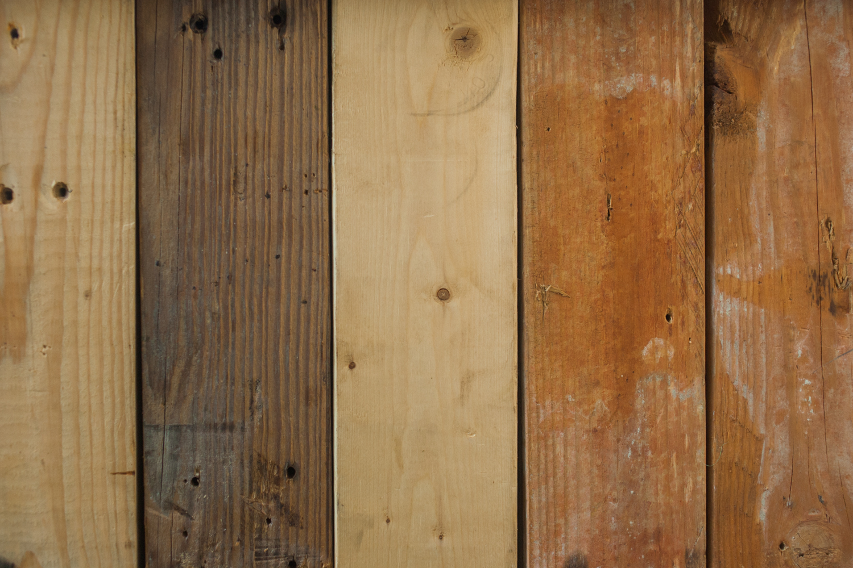 close up of a wood deck