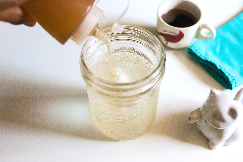 Step 2 | Vanilla Wet Dog coffee drink