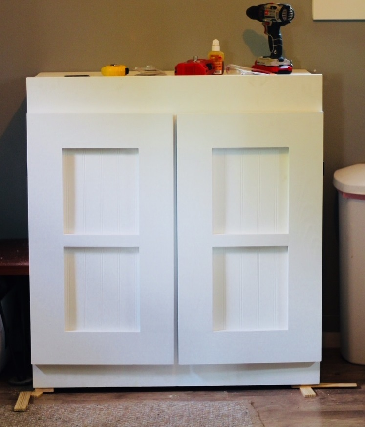 cabinet installedd