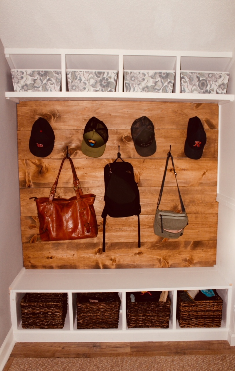 complete wooden wall