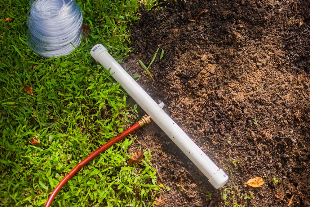 diy inexpensive irrigation system reservoir