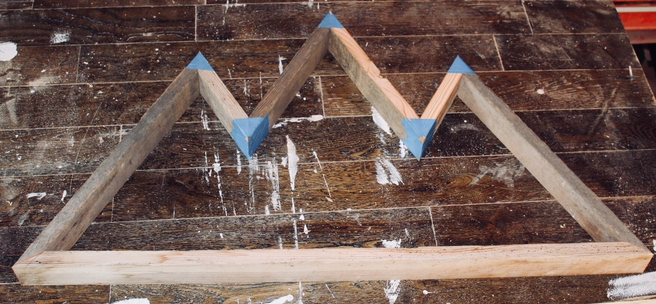 How To Easy Wooden Mountain Wall Art Man Made Diy Crafts For Men