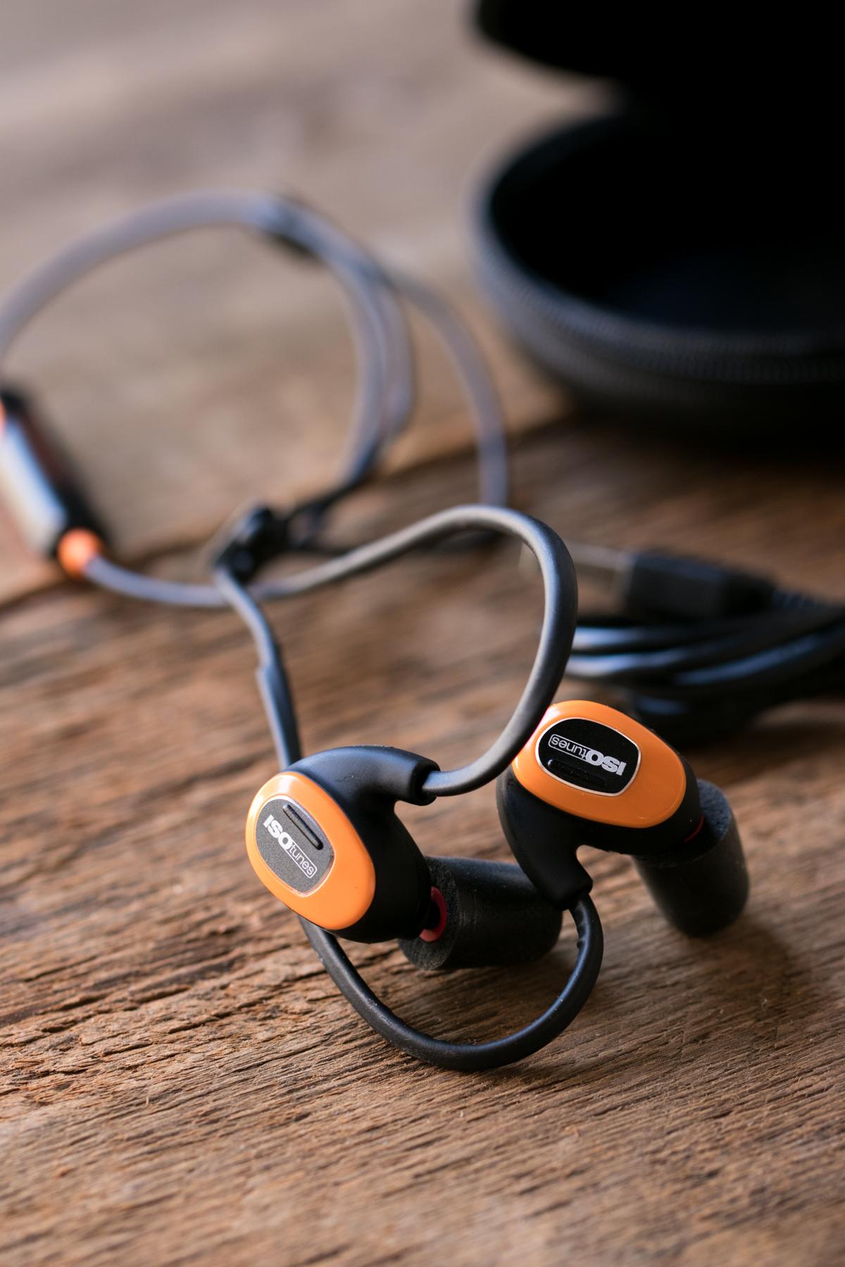 IsoTunes noise cancelling headphones