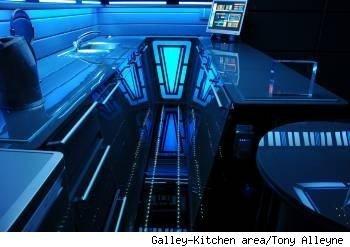 star trek kitchen, tony alleyne