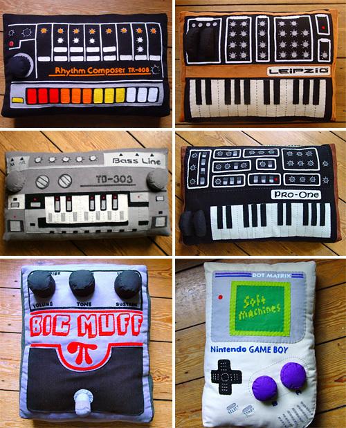 Soft Machines (Images courtesy DaWanda)