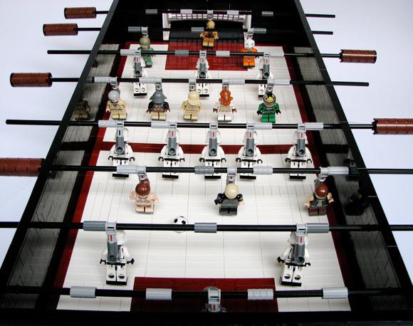 Lego Star Wars Foosball Table