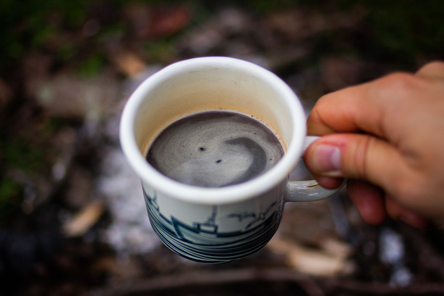 camping coffee maker - not too bad
