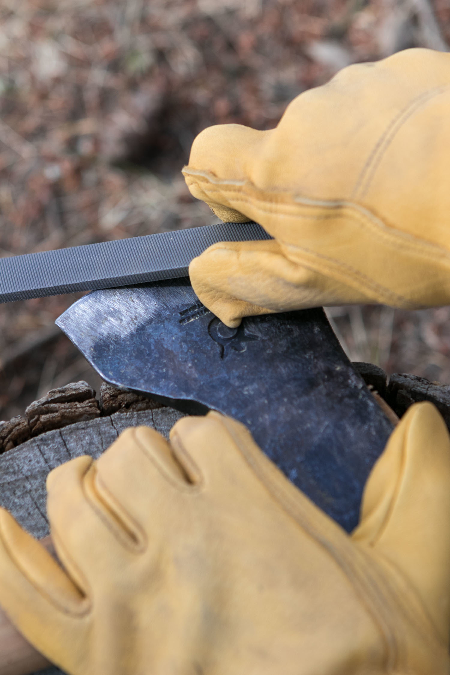 How to Sharpen and Care For Your Axe | Man Made DIY | Crafts