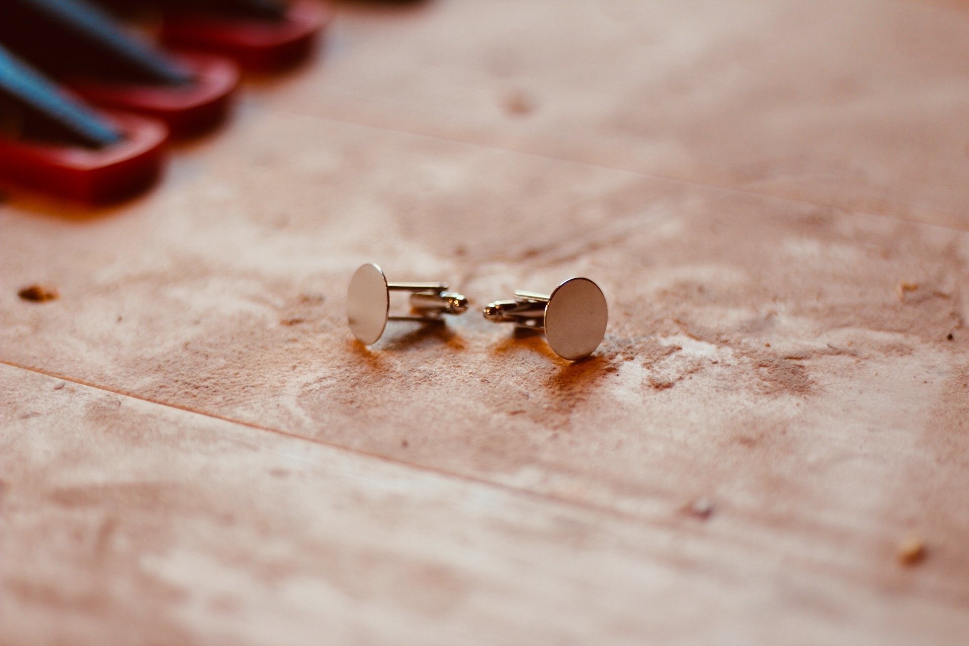wooden custom cufflinks  - blanks